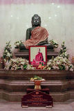 Jade Buddha statue Royalty Free Stock Images