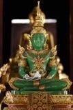 Jade Buddha statue Stock Image