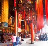 Jade Buddha Temple, Шанхай, Китай стоковые изображения rf