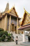 Jade buddha temple in bangkok,thailand Royalty Free Stock Image