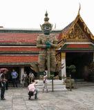 Jade buddha temple in bangkok,thailand Stock Photo