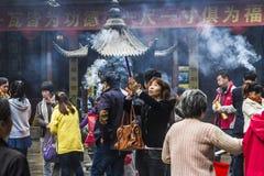 The Jade Buddha Temple Stock Photography