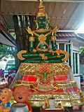 The Jade. Buddha in thailand Royalty Free Stock Images