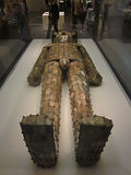 Jade Burial Suit Stockfotos