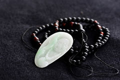 Jade carving pendant Stock Images