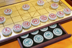 Jade chinese chess Stock Images