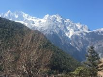 Jade Dragon Mountain imagem de stock royalty free