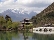 Jade Dragon Mountain stock photo