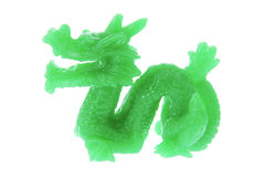Jade Dragon Ornament Stock Images
