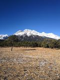 Jade Dragon Snow Mountain. , stock images