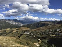 Jade Dragon Snow Mountain Images libres de droits