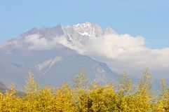 Jade Dragon Snow Mountain Imagen de archivo