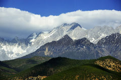 The Jade Dragon snow mountain Royalty Free Stock Photo