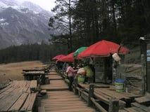 Jade Dragon Snow Mountain Fotografía de archivo