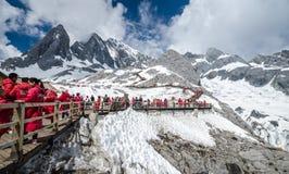 Jade Dragon Snow Mountain Imágenes de archivo libres de regalías
