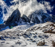 Jade Dragon Snow Mountain Fotos de archivo