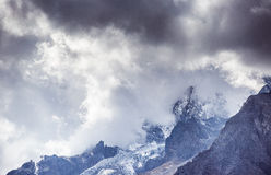 Jade Dragon Snow Mountain Image stock