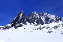 Jade Dragon Snow Mountain Photos stock
