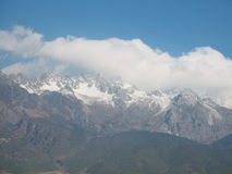 Jade Dragon Snow Mountain Stockbild