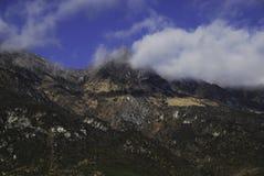 Jade Dragon Snow Mountain. Central  of Jade Dragon Snow Mountain Royalty Free Stock Photography
