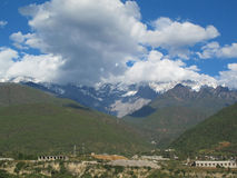 Jade Dragon Snow Mountain, Lijiang, China Stock Photos