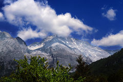 Jade Dragon Snow Mountain, Lijiang, Yunnan Stock Photography