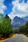 Jade Dragon Snow Mountain, Lijiang, Yunnan Royalty Free Stock Photo