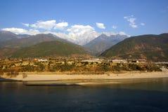 Jade Dragon Snow Mountain, Lijiang, Yunnan province, China Royalty Free Stock Photos