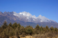 Jade Dragon Snow Mountain, Lijiang, Yunnan province, China Stock Image