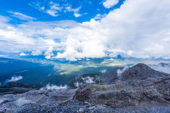 Jade dragon snow mountain Stock Photo