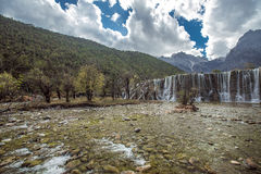 Jade Dragon Snow Mountain. Mountains in Yunnan province, China Royalty Free Stock Photography