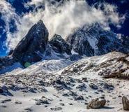 Jade Dragon Snow Mountain Stock Photos