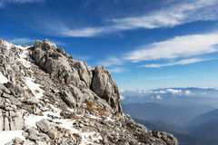 Jade Dragon Snow Mountain Royalty Free Stock Images