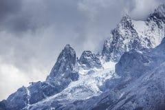 Jade Dragon Snow Mountain. Mountain in Yunnan province, China Stock Photos