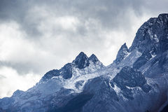 Jade Dragon Snow Mountain. Mountain in Yunnan province, China Stock Images