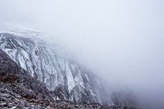 Jade Dragon Snow Mountain. Mountain in Yunnan province, China Royalty Free Stock Image