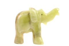 Jade elephant. Royalty Free Stock Photo