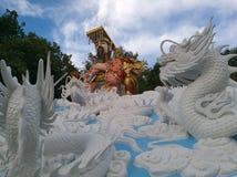 Jade Emperor i himmel royaltyfri bild