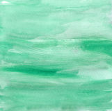 Jade Green Dry escovou a aquarela ilustração royalty free