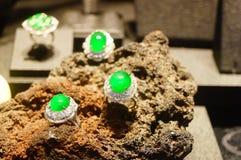 Jade Jewelry Imágenes de archivo libres de regalías