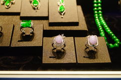Jade jewelry Stock Photography