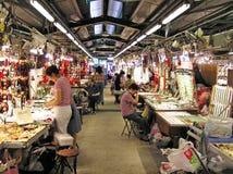 Jade Market in Hong Kong Immagine Stock Libera da Diritti