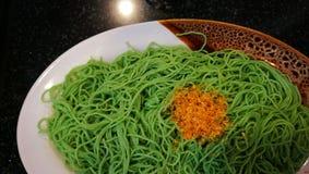 Jade Noodle Fotografia Stock Libera da Diritti