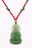 Jade pendant Stock Photo