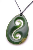 Jade pendant. Typical jade pendant for tourist souvenirs, West Coast, South Island, New Zealand Royalty Free Stock Photo