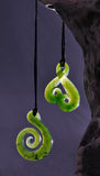 Jade pendants Royalty Free Stock Images