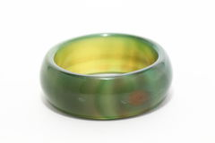 Jade rings Stock Images
