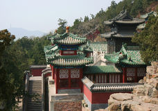 Jade roofs Royalty Free Stock Images