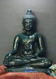 Jade sculpture of buddha Royalty Free Stock Photography