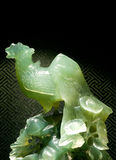 Jade sculpture of Heaven Chicken, Holy animal in China Royalty Free Stock Photos